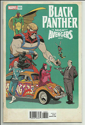 Black Panther #169 Marcos Martin Mighty Avengers Variant Marvel 2018
