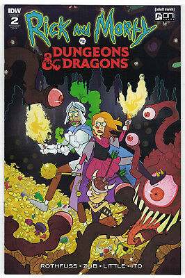 Rick and Morty vs Dungeons & Dragons #2 Julia Scott 1:10 Variant IDW 2018