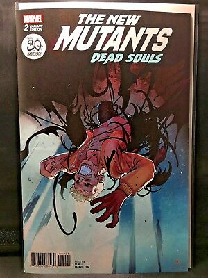 The New Mutants #2  Marvel Comic Book Variant Edition  Dead Souls  Nm Venom