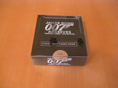 James Bond Archives (2015) (24 Packs)  Trading Card Box