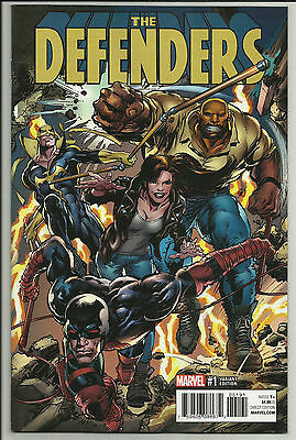 Defenders #1 Neal Adams 1:25 Variant Luke Cage Daredevil Marvel 2017