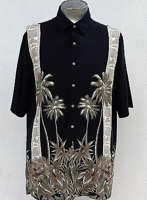 Hawaiian shirt circa 1980's USA by Croft and Barrow size XL.