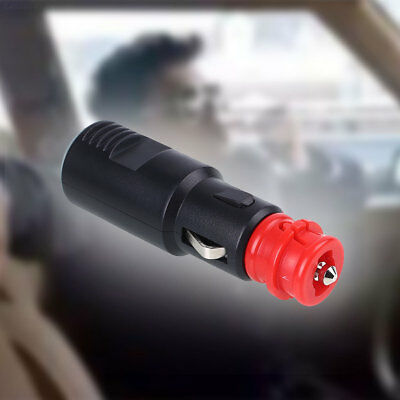 7934 Car Cigarette Lighter Plug Male Motor Socket Power Charger Adapter Connecto