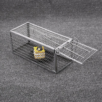 9966 High Sensitivity Mouse Cage Rodent Animal Rat Hamster Control Catch Metal