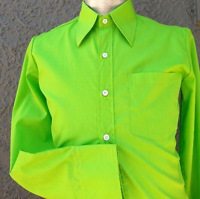 Men's 'Chenaski' Plain Polyester fitted shirt, from Germany size S