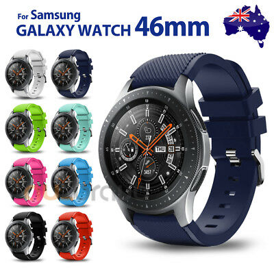 Samsung Galaxy Watch 46mm Fashion Sport Silicone Replacement Bracelet Strap Band