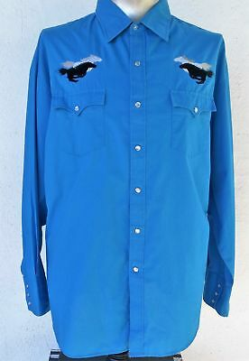 Men's Western shirt by 'Blair' USA size XXL