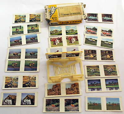 Vintage Weetabix 3-D Viewer plus  Viewing Cards - Boxed