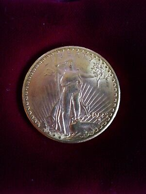 1925 USA 20 GOLD DOLLARS Double Eagle Liberty COIN, SAINT- GAUDENS
