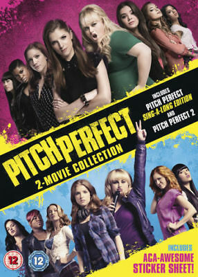 Pitch Perfect: 2 - movie Collection [DVD] New and Sealed