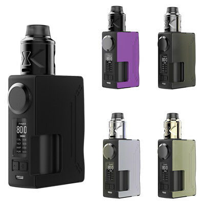 Surge Squonk Mod Kit 80w with Piper Rda Atomizer 18650 Battery Powered