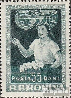 Romania 1595 (complete issue) unmounted mint / never hinged 1956 working Women
