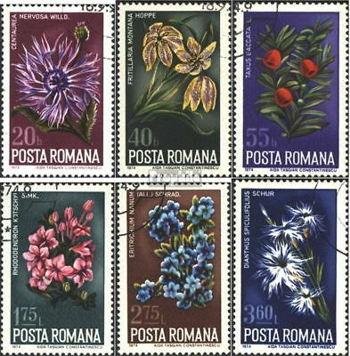 Romania 3224-3229 (complete issue) unmounted mint / never hinged 1974 Plants