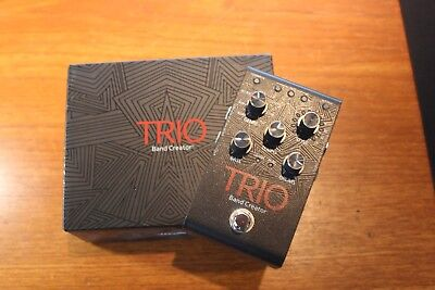 Digitech Trio band creator pedal - Mint Used Boxed Power Supply