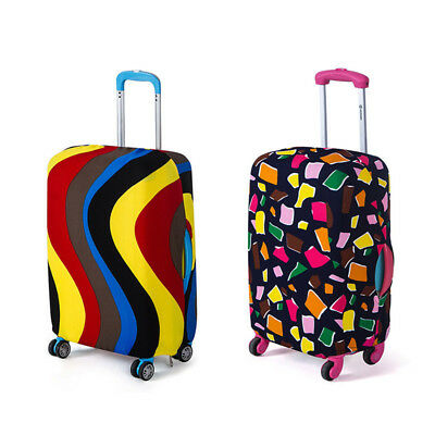 Travel Luggage Cover Elastic Trolley Case Suitcase Protective Packing Organizer
