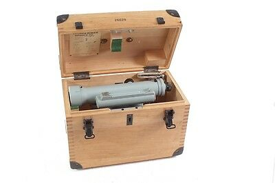 Old Libellennivellier Finder Measuring Device Theodolite Feinmess Dresden