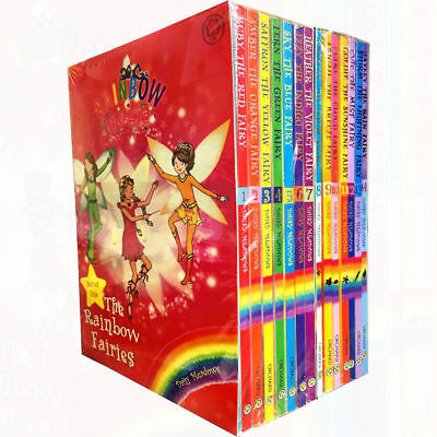 Daisy Meadow Rainbow Magic Series 1&2 Colour&Weather Fairies 14 Books Collection