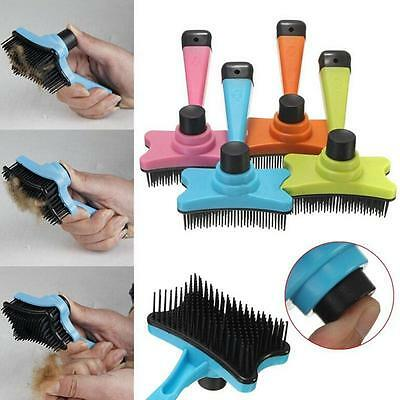 Pet Dog Cat Long Short Hair Fur Shedding Remove Grooming Rake Comb Brush 12CM FE