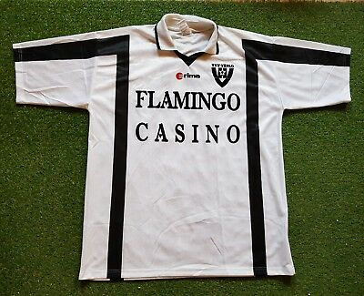 VVV Venlo Football Shirt XXL 2001 2002 Erima Trikot Jersey Flamingo Casino