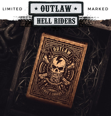Outlaw HELL RIDERS Edition Playing Cards by Lee McKenzie- Limited, Rare