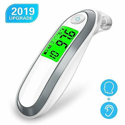 Forehead and Ear Medical Baby Thermometer, COULAX Dual Mode Infrared Thermometer