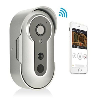 IP Doorbell HD Video Multi-Function Remote Intercom WiFi Android iOS Nightvision