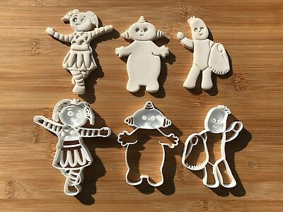 In The Night garden 021 Cookie cutters fondant cake decoration cake topper