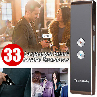 Portable Smart Two-Way Real Time Multi-Language Voice Translator for Learning AU