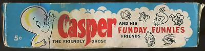 1960 Fleer Casper The Friendly Ghost 5-Cent Display Box (Missing Lid)
