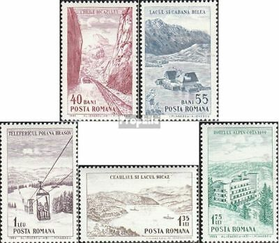 Romania 2294-2298 unmounted mint / never hinged 1964 Tourism