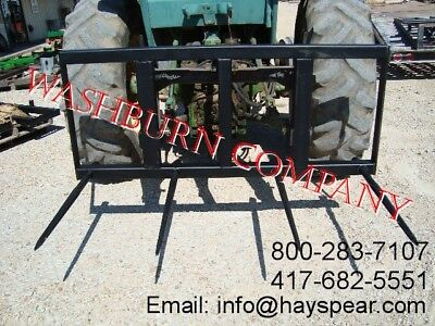 3 Point Heavy Duty Hay Mover 4 spear