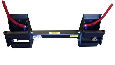 Skid Steer Universal Hitch Adapter w/3 Rollback Settings 8296