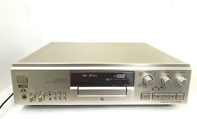 Sony MDS-JA555ES Minidisc Recorder High End Vintage 1999 with Remote  Like New