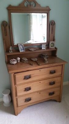 Beautiful Antique Pine Dressing Table