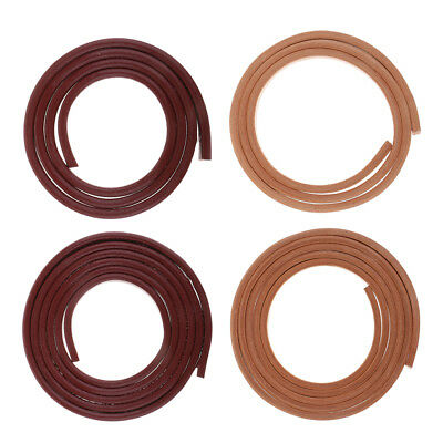 10mm Genuine Leather Strap Strips Leather Lace for DIY Leathercraft Accessories
