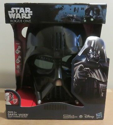 Star Wars Rogue One Darth Vader Voice Changer Helmet - new in package