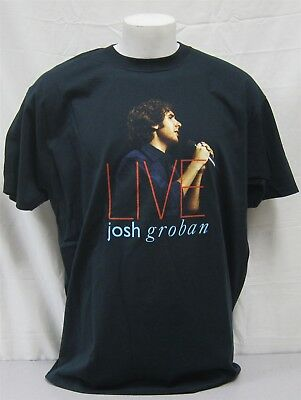Josh Groban authentic Concert Shirt 2005 Tour NEVER WORN WASHED Original XL