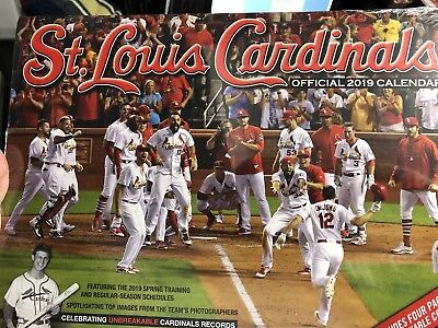 Official 2019 St. Louis Cardinals Calendar With Schedule And Coupons