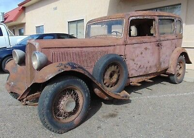 1935 Fiat Ardita 2500  1935 Fiat Ardita 2500-Solid Mostly There Project--Long Long Time Sitter- Neat-