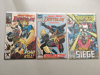DeathLok Vol 2 Lot of 3 Marvel Comics