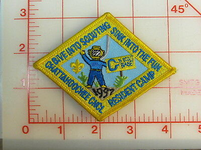 Chattahoochee Council collectible uniform 1997 Resident Camp patch  (rC)
