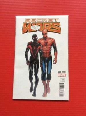 SECRET WARS #9  Miles Morales Variant  Free Shipping  COMICS BUY IT NOW