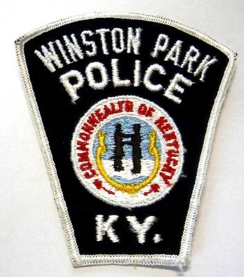 Old Winston Park Kentucky Police Patch Unused