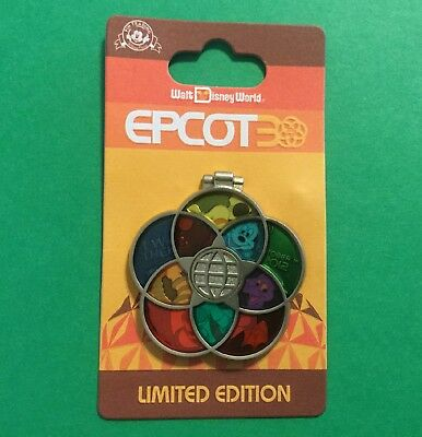 Disney Epcot 30Th Anniversary – I Was There Figment & Mickey   Le New On Card