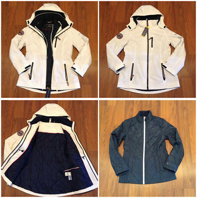 Tommy Hilfiger Women's 3 in 1 All Weather System Jacket Size S, M, L, XL New