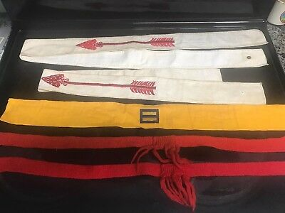 Boy Scout Vintage Sash Lot Of 3 Plus?