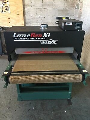 Vastex Little Red X1 Conveyor Dryer