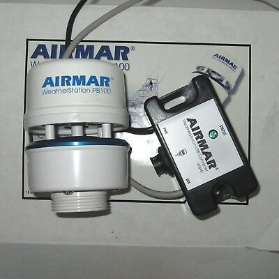 Airmar PB100 WeatherStation with USB Converter and Cables TESTED