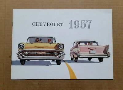 Chevrolet Sales Brochure,VINTAGE 1957