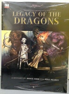 Sword & Sorcery Mont Cook's Arcana Unearthed Legacy of the Dragons - Sealed